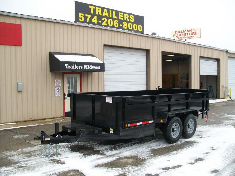 "2020 Quality Steel CJ 83""X14' 14K GVWR Dump Trailer $6850"