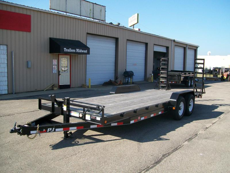 "2019 PJ CC 83""X18' 14K GVWR Equipment Trailer"