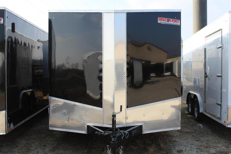 2020 Discovery Challenger ET 8.5X24 7K GVWR Enclosed Car Trailer