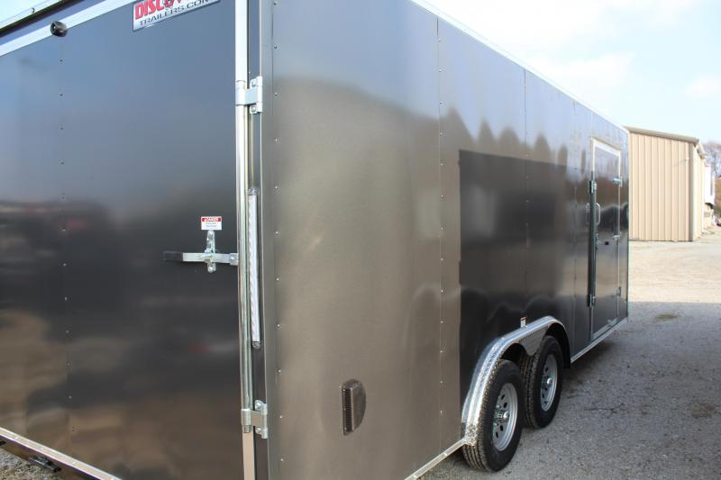 2020 Discovery Challenger ET 8.5X20 7K GVWR Enclosed Car Trailer $5575