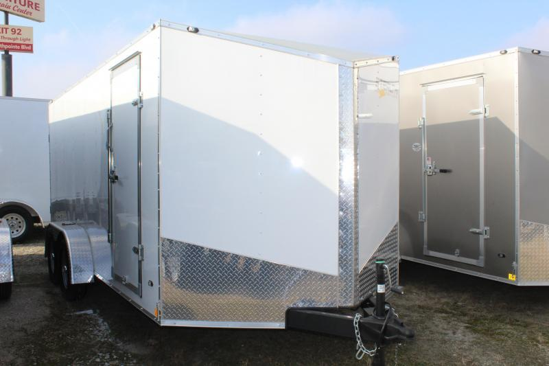 2019 Stealth Mustang 7X16 7K GVWR Cargo Trailer  $4870
