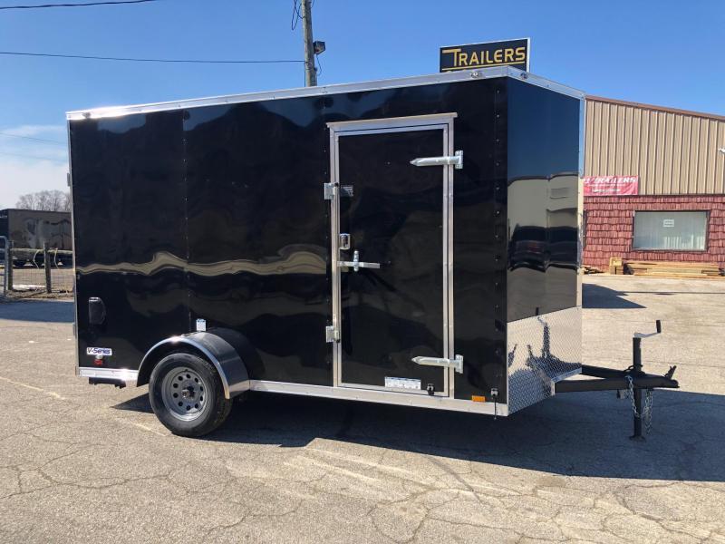 2020 Continental V-Series 6.5X12 Single Axle Cargo Trailer $3286