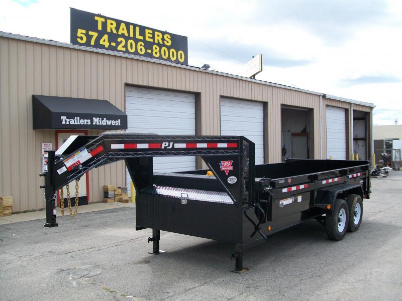 "2019 PJ DL 83""X16' 15680 GVWR Dump Trailer $8904"