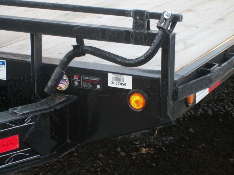 "2019 PJ L6 101""X20' 10K GVWR Deckover Trailer"