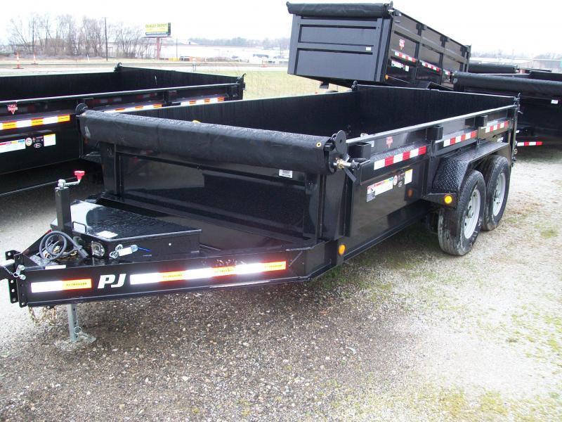 """2019 PJ DL 83""""X16' 14K GVWR Dump Trailer $8162"""