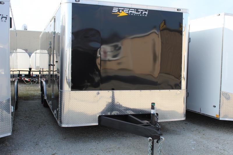 2019 Stealth Titan 8.5X24 10K GVWR Enclosed Race Trailer