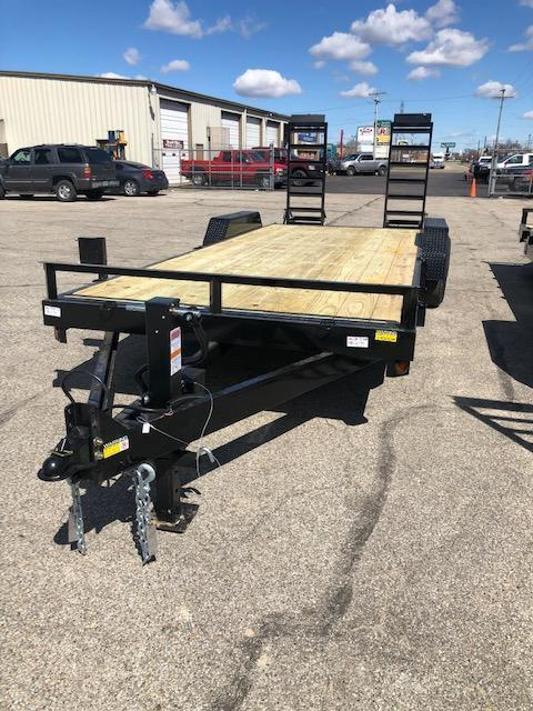 "2019 Quality Steel 83""X22' 14K GVWR Equipment Trailer $4565"