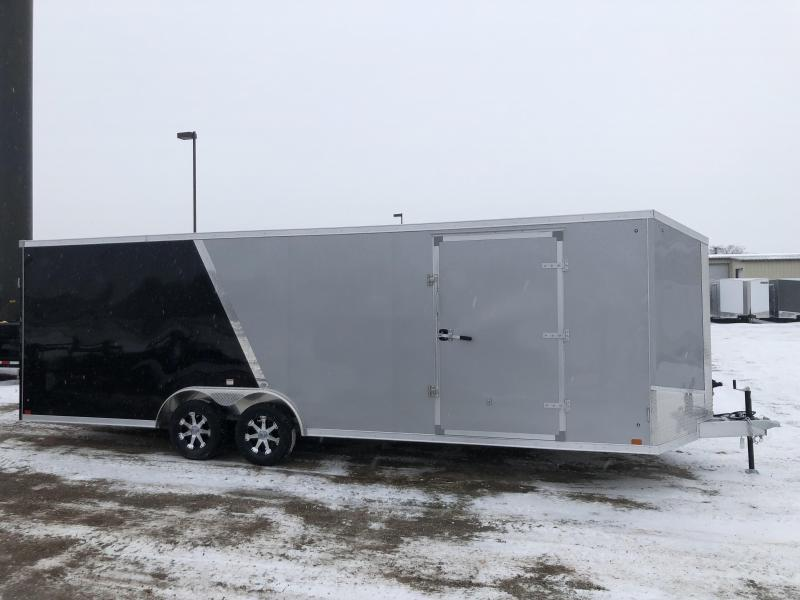 2019 Discovery Nitro Aluminum 8.5X24 7K GVWR Enclosed Car Trailer  $