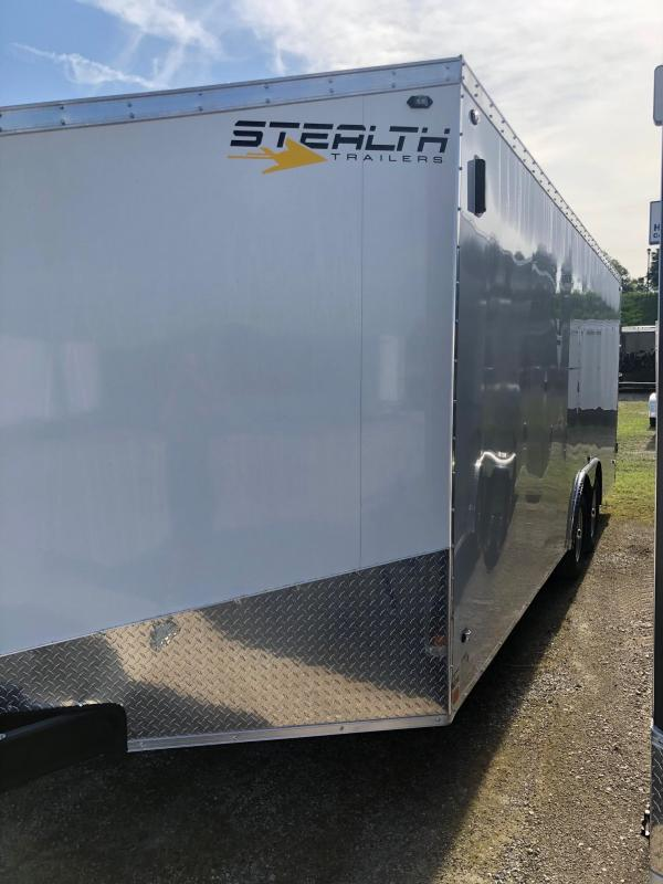 2020 Stealth Titan 8.5X20 7K GVWR Enclosed Car Trailer $6650