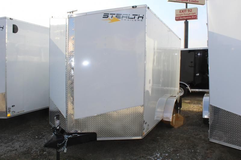 2019 Stealth Mustang 7X16 7K GVWR Enclosed Cargo Trailer