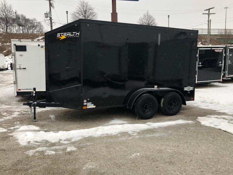 2020 Stealth Mustang 6X12 7K GVWR Blackout Cargo Trailer $4350