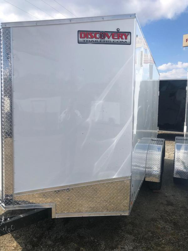 2020 Discovery Rover ET 6X12 7K GVWR Enclosed Cargo Trailer