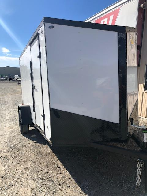 2020 Stealth Mustang 6X12 Single Axle Blackout Cargo Trailer $3230