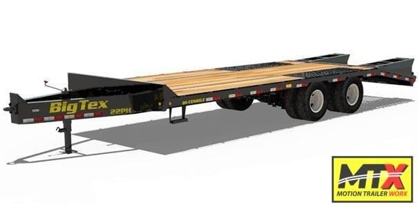 2020 Big Tex 25+5 22PH Over Deck Pintle w/ Mega Ramps