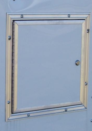 """Door Fuel White 14"""" x 14"""""""