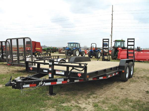 "2019 PJ 20'x 6"" Equipment Trailer"