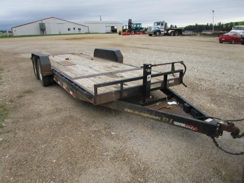 2010 PJ 20x6 Equipment Tilt Trailer