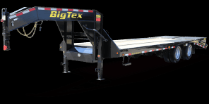 2018 Big Tex Trailers 22GN-30 Flatbed Trailer