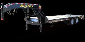 2019 Big Tex 22GN-25 Flatbed Trailer