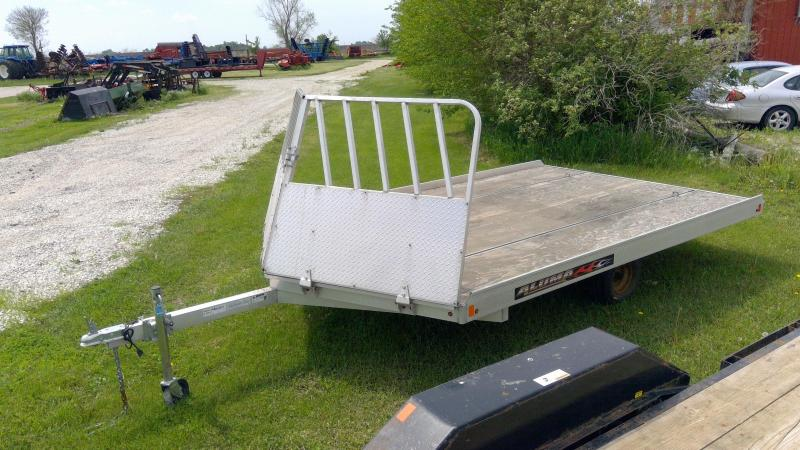 2015 Aluma 8612 D Snowmobile Trailer