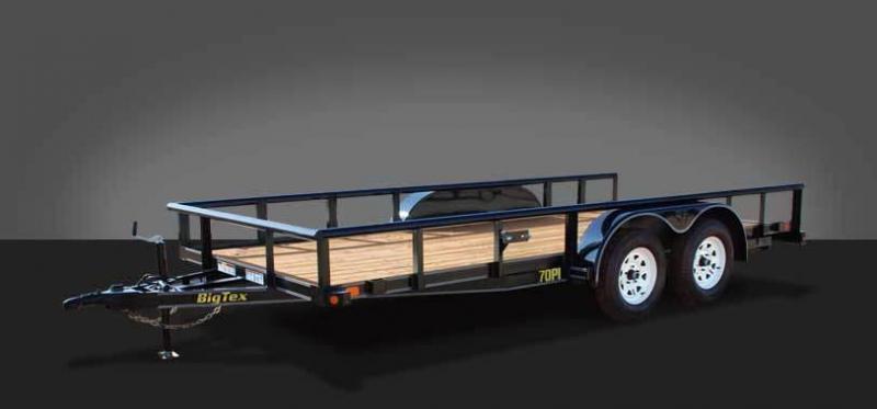2017 Big Tex 70PI -18X Utility Trailer