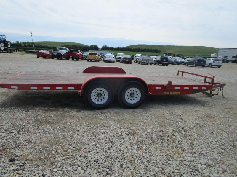 2014 Hull 20' Tilt Equipment Trailer