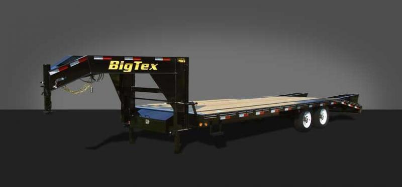 2018 Big Tex 14GN-25' Flatdeck Trailer