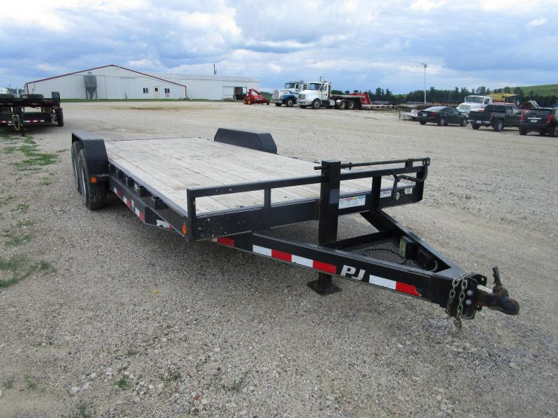 "2013 PJ  20'x6"" Equipment Trailer"