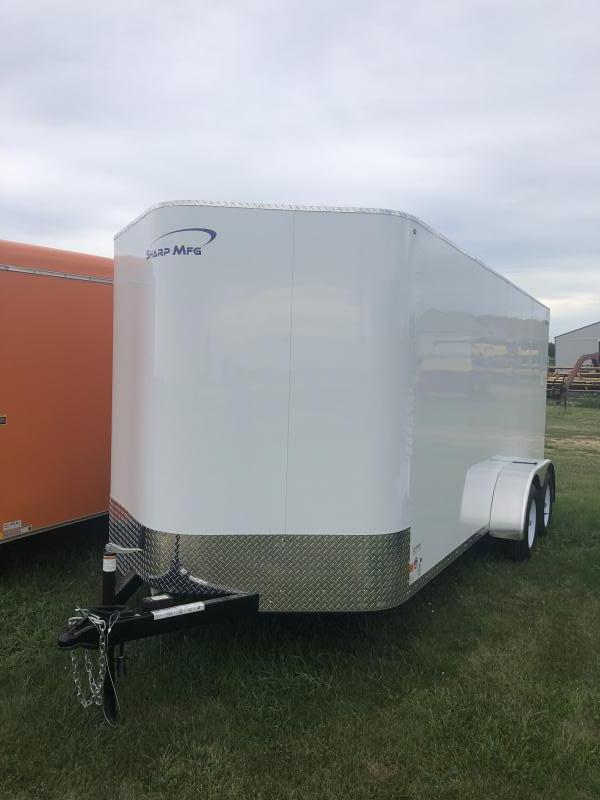 2019 Sharp 7x16 Cargo / Enclosed Trailer