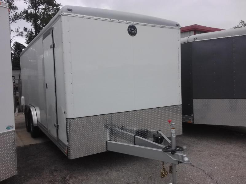 WELLS CARGO EW2024 ENCLOSED CARGO TRAILER W/ CUSTOM OPTIONS