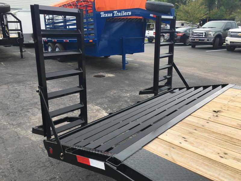 Tandem Trailer Fenders With Backs : Df bk big tex drive over fenders equipment trailer