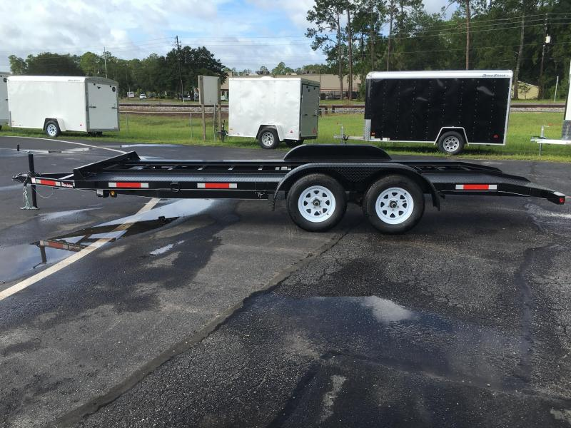 Ch1870 Texas Trailers 18 Car Hauler W Slide Out Ramps
