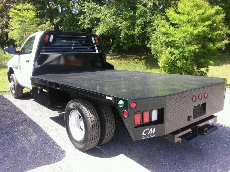 CM TRUCK BED RD MODEL W/ CUSTOMIZED UNDER BODY BOXES