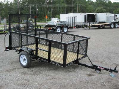 Lm4820 texas trailers 4x8 lawn maintenance trailer texas for Garden maintenance trailer