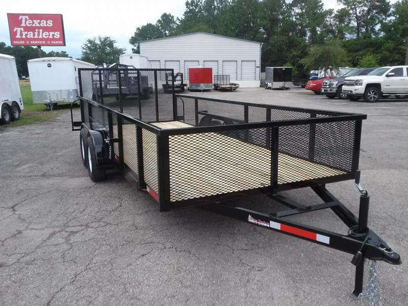 Lm61870 Texas Trailers 6 10 Quot X18 Lawn Maintenance Trailer W
