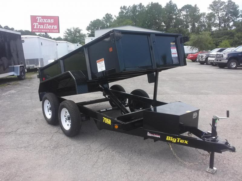 70SR-10-5W 10' DUMP TRAILER W/ ONE PIECE TWO-WAY REAR GATE