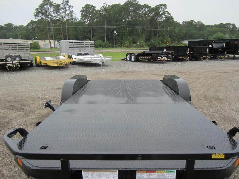 70dm 20 Big Tex 20 Steel Deck Car Hauler W Brakes On