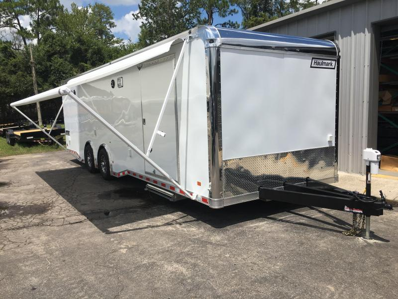 EGP8528T4 HAULMARK 28' EDGE PRO CAR HAULER W/ CUSTOM OPTIONS
