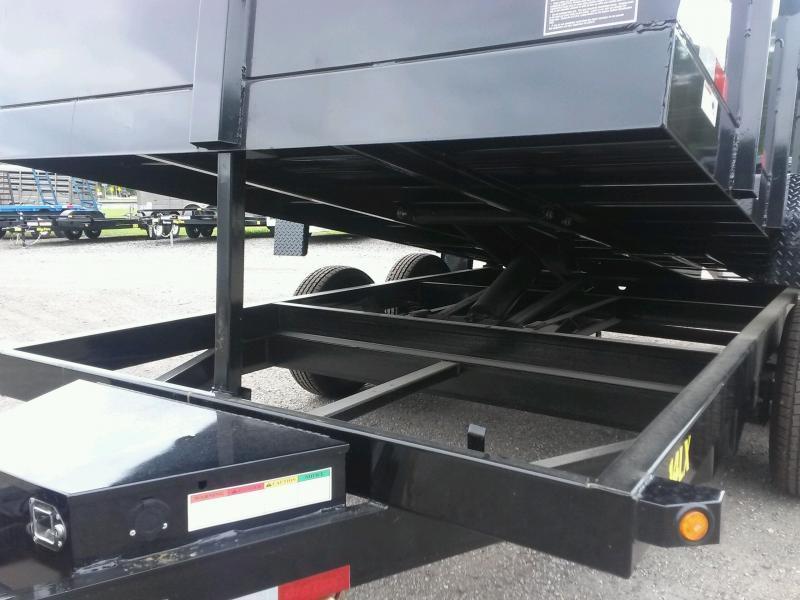 14lx 14 Big Tex 7 X 14 Dump Trailer W 7x18 Tarp Amp Combo