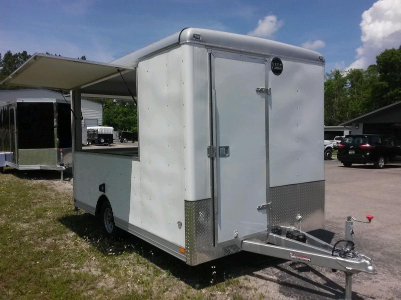 Clw121 Wells Cargo 7x12 Concession Trailer W Custom