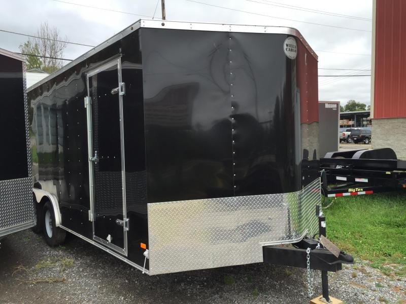 2016 Wells Cargo FT85182 Enclosed Cargo Trailer