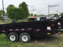 2015 Big Tex Trailers 14LX-16 Dump Trailer