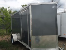 2015 Mission ECEZ6X12 Enclosed Cargo Trailer
