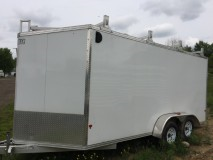 2015 Mission EZEC7X16 Enclosed Cargo Trailer