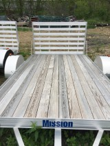 2015 Mission MU 80X14-DL-W Utility Trailer