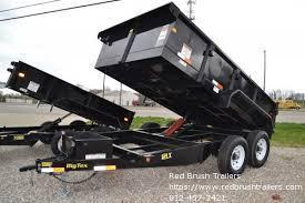 2016 Big Tex Trailers 10SR-12XL Dump Trailer