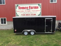 2016 Wells Cargo FT7142 Enclosed Cargo Trailer