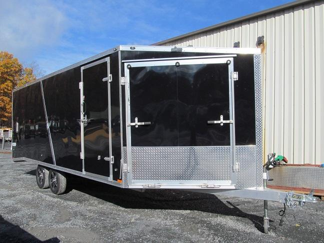 Stealth 4 Place Enclosed 20 Plus 5 Snowmobile Trailer