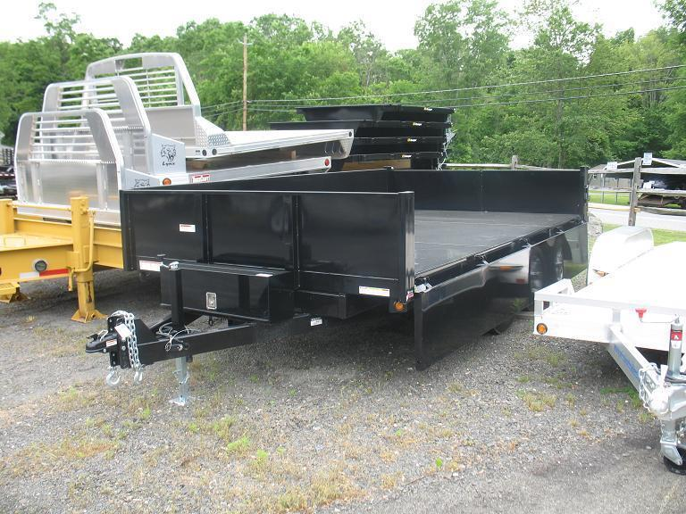 10000 Lb Car Lift >> Sure-Trac HD Deckover Dump w/ Fold Down Sides Dump Trailer ...