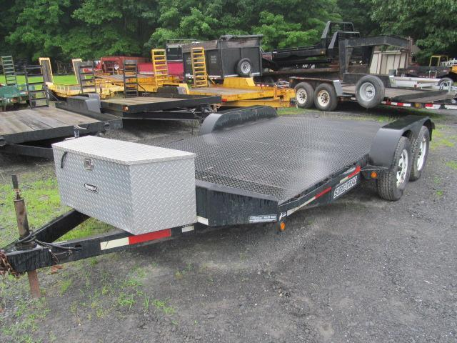 2009 Sure-Trac 82 X 16 Open Car Hauler